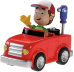 Fisher Price Push & Pull Along Fisher Price Handy Manny'S Tuneup And Go Truck