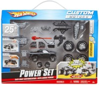 Hot Wheels Custom Motors Power Baja Truck Set (Black)