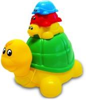 Funskool Pull Along-Ride N Hide Turtle (Multicolor)