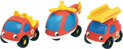 Smoby Cars, Trains & Bikes Smoby Vroom Planet Fire Brigade Pack