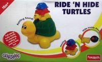 Funskool Ride 'n Hide Turtles: Vehicle Pull Along
