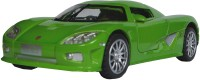 AdraxX 1:28 Scale Die Cast Retro Concept Sports Car Toy Collector Model (Green)