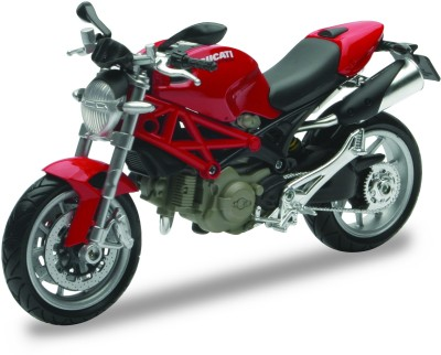 New-Ray 1:12 2010 Ducati Monster 1100 Diecast Motorcycle