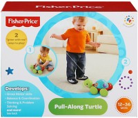 Fisher Price Pull-Along Turtle (Multicolor)