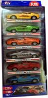 Cp Bigbasket Full Metal Cars Set Of 6 Cars (multi)