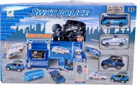 Planet Of Toys SWATPOLICEPLAYSET (Multicolor)