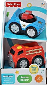 Lil' Zoomers Fisherprice 2Pack Rescue Racers