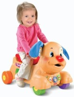 Fisher Price Laugh & Learn Stride-to-Ride Puppy (Multicolor)