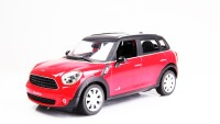 A Smile Toys & More Mini Cooper Countryman Die Cast With Sound And Inbuilt Hid (Red)