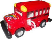 Smart Picks Kinsfun 4 Inch School Bus (Multicolor)