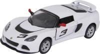 Kinsmart Die-Cast Metal White Color Lotus Exige Car (White)