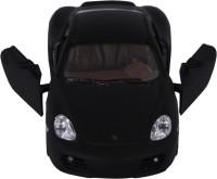 Baby Steps Kinsmart Die-Cast Metal Matte Porsche Cayman S (Black)