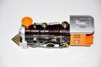 Ruppiee Shoppiee Sonoic Locomotive Metal Train Orange (Orange/Brown)