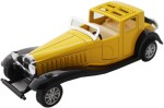 Tootpado Cars, Trains & Bikes Tootpado Vintage Model Metal Toy Car With Pull Back Mechanism Playing For Kids