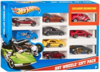 Hot Wheels Mattel X6999 Hot Wheels 9-Car Gift Pack (Colors And Designs May Vary) (Multi Color)