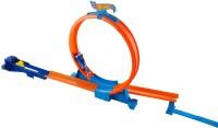 Mattel HOT WHEELS ZIP RIPPERS RIP UP RACEWAY TRACK SET - CDF30 (Multi Colour)
