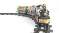 Littlegrin Classic Express Train Set Toy With Engine (Multicolor)