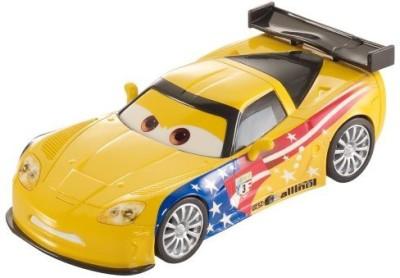 Mattel Cars, Trains & Bikes Mattel disney/pixar cars Pull Backs Jeff Gorvette