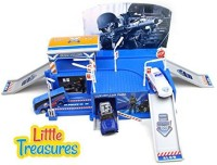 Little Treasures City Swat Police Force Play Set (Multicolor)