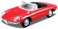 BBURAGO 1/32 Alfa Romeo Spider Diecast Model Car (Red)