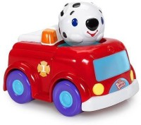 Bright Starts Having A Ball Press & Zoom Pals - Dog And Fire Truck (Multicolor114)