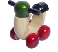 Artykart Wooden Scooter (multi-color)