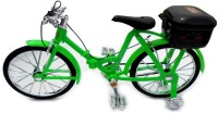 Turban Toys Musical Battery Operated Bicycle With Light & Sound (Green)