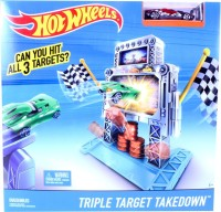 Hot Wheels Hot Wheels Triple Target Takedown Track Set (Multicolor)