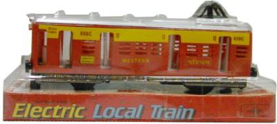 Speedage Cars, Trains & Bikes Speedage Local Train Pull Back