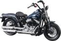 Maisto Harley-Davidson 2008 FLSTSB Cross Bones - Dark Blue