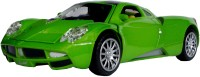 AdraxX 1:28 Scale Die Cast Dashing Sports Car Toy Collector Model (Green)