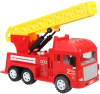 Babeezworld City Music And Light Fire-truck R (Red)