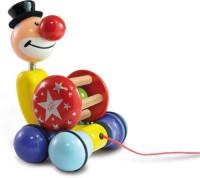 Vilac 2404 Pull-Along Toy Grantoon Circus (Multicolor)