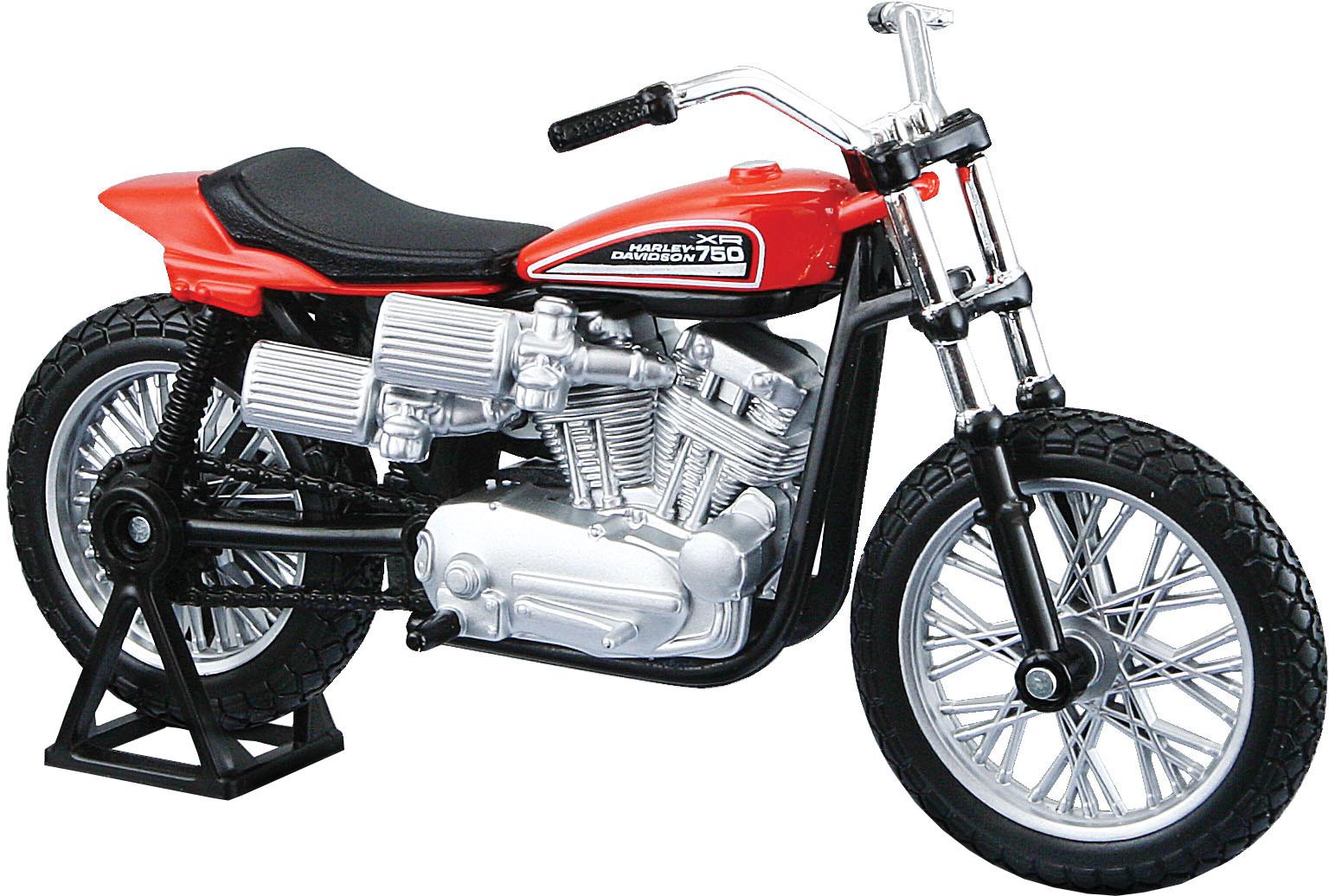 Harley Davidson: Maisto Harley-Davidson 1972 XR750 Racing Bike