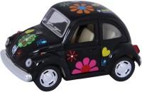 Kinsmart Die-Cast Metal 1967 Volkswagen Classic Beetle (Black)