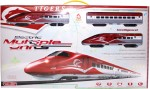 VENUS PLANET OF TOYS Cars, Trains & Bikes VENUS PLANET OF TOYS ELECTRIC EUROSTAR HIGH SPEED TRAIN SET W/LIGHT AND MUSIC