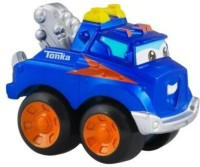 Chuck & Friends Tonka ~ Handy The Tow Truck ~ Die Cast Metal Truck (Blue)