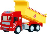 Montez Musical Friction Truck (Red, Yellow)
