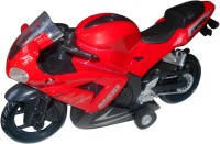 Smart Picks High Performance Bike Red With Music (Multicolor)