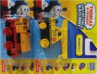 Thomas And Friends Thomas And Friends Engine Bill+Kevin (Yellow, Black, Orange)