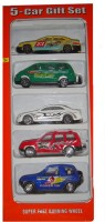 Shree Krishna 5 Cars Gifts Set (White, Green, Yellow, Blue, Red)