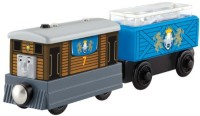 Fisher-Price Thomas Wooden Railway - Toby'S Royal Cargo Car (Multicolor)