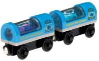 Fisher-Price Thomas Wooden Railway Aquarium Cars (Blue, Black)