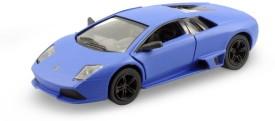 Mayatra's Kinsmart Matte Blue Lamborghini Die Cast Car