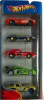 Hot Wheels Corvette Race Set Of Five