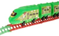 Turban Toys Ben10 Battery Operated Train (Green)