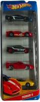 Hot Wheels Ferrari Set Of Five