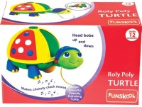 Funskool Pull Along-Roly Poly Turtle (Multicolor)
