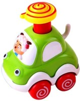 Smart Picks Sober Dog Forest Animal Car (Multicolor)