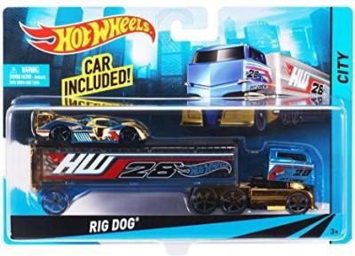 Hot Wheels Cars, Trains & Bikes Hot Wheels Super Rig